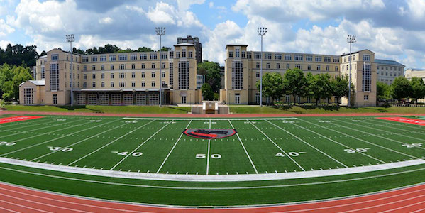The Tartans' football field.