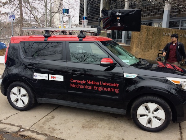 Safe AI Lab vehicle